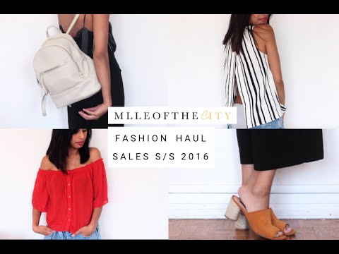 FASHION HAUL SALES SS16 (Monki, MANGO, ZARA, Nike etc.) | MlleoftheCity