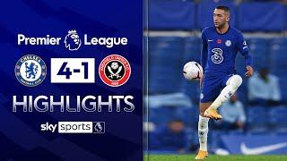 Ziyech stars as Chelsea hit FOUR past Sheff Utd | Chelsea 4-1 Sheffield United | EPL Highlights