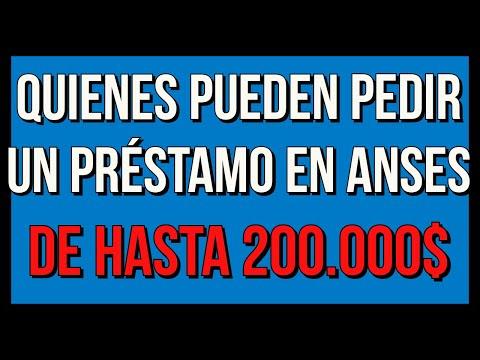 ¿Quiénes pueden pedir un PRESTAMO EN ANSES de hasta 200.000 pesos?