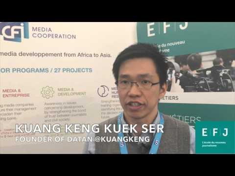 Interview de Kuang Keng Kuek Ser, fondateur de DataN (Malaisie) #4M Paris