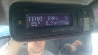 ВАЗ 2110 1.5L 16V без датчика детонации езда