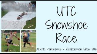 UTC Snowshoe Race Full 2016   Alberta Rendezvous & Outdoorsmen Show Pincher Creek