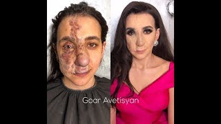 ДО И ПОСЛЕ (ч. 3)  Чудеса макияжа  Нереальное перевоплощение.