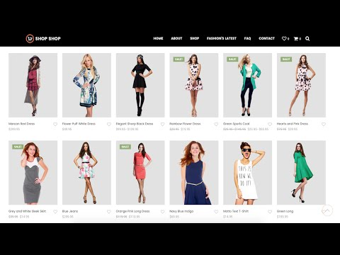 How to Create an Ecommerce Website with Wordpress ONLINE STORE! - 2016