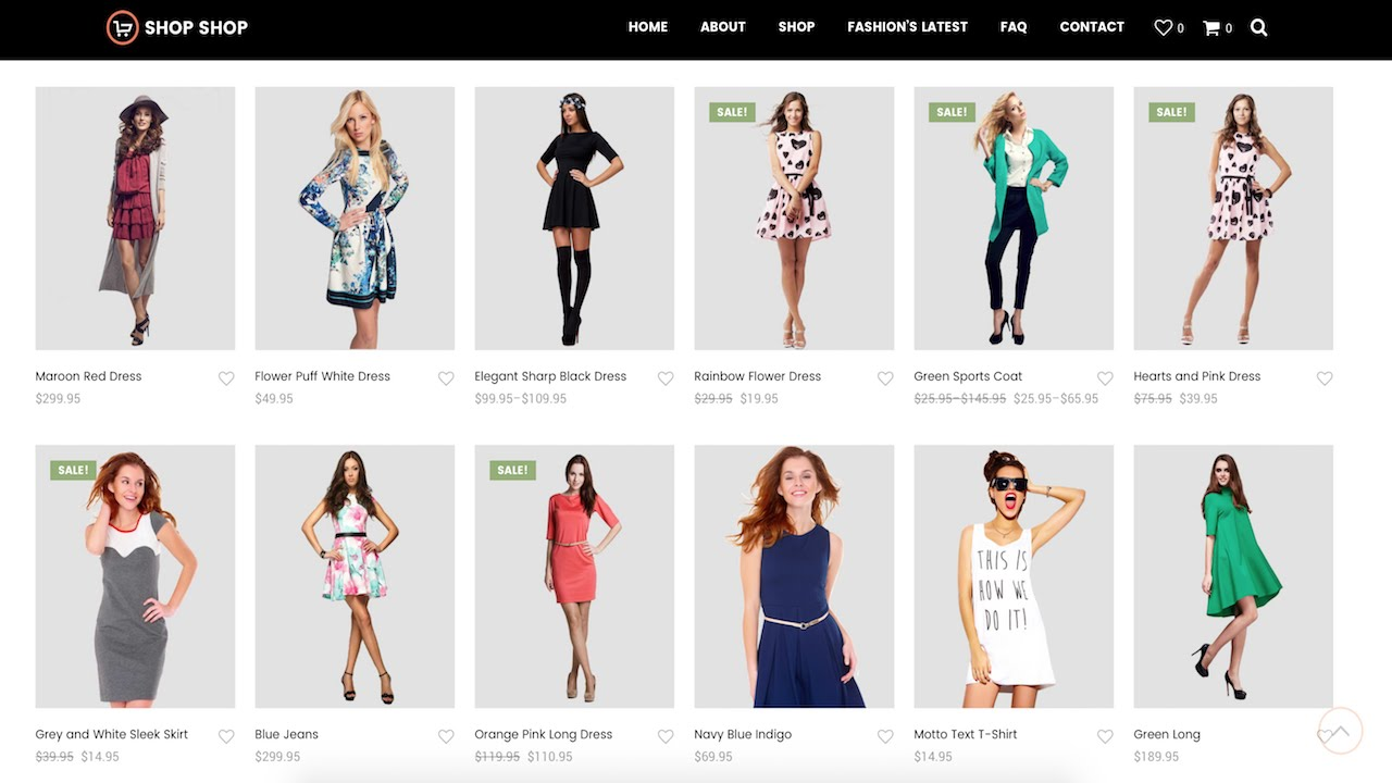How to create an ecommerce website with wordpress online for Create design online