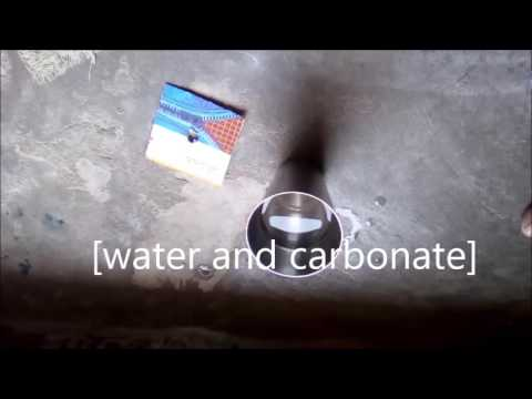 Reaction Water And Sodium Carbonate