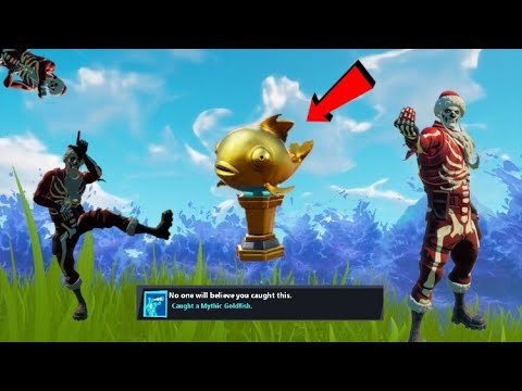 Completing *Achievements* In Fortnite Chapter 2 ! PT 6 : The Mythic Fish