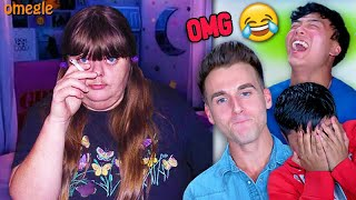 Challenging Strangers To Make Me Laugh, Then I Surprise Them With $10,000 (OMEGLE)