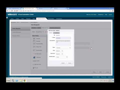 VMware vCAC 6.0 - Enable the Advanced Services Designer by Yves Sandfort