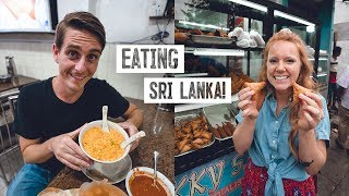 Trying Sri Lankan STREET FOOD with a LOCAL! - Colombo Food Tour