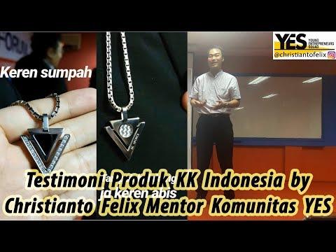 Testimoni Produk KK Indonesia By Christianto Felix Mentor Komunitas YES