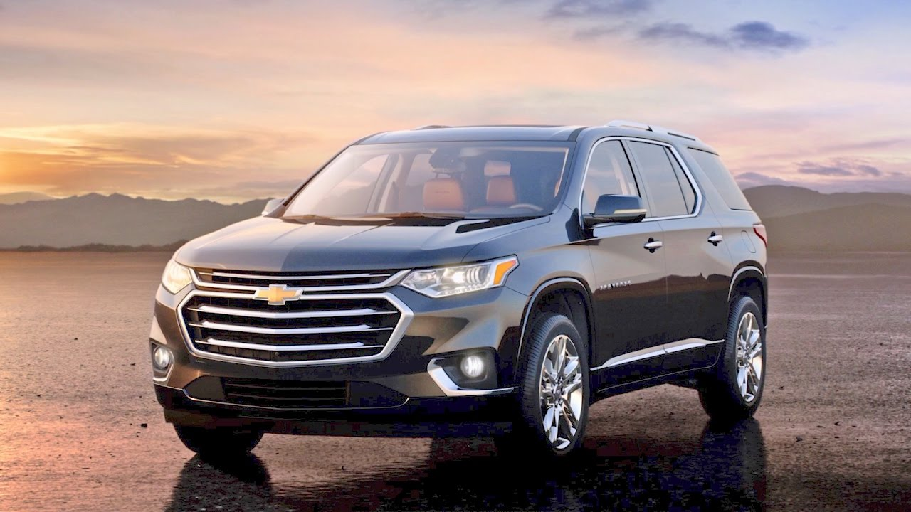 Chevrolet Traverse - NEW 2018 model - First Look - YouTube