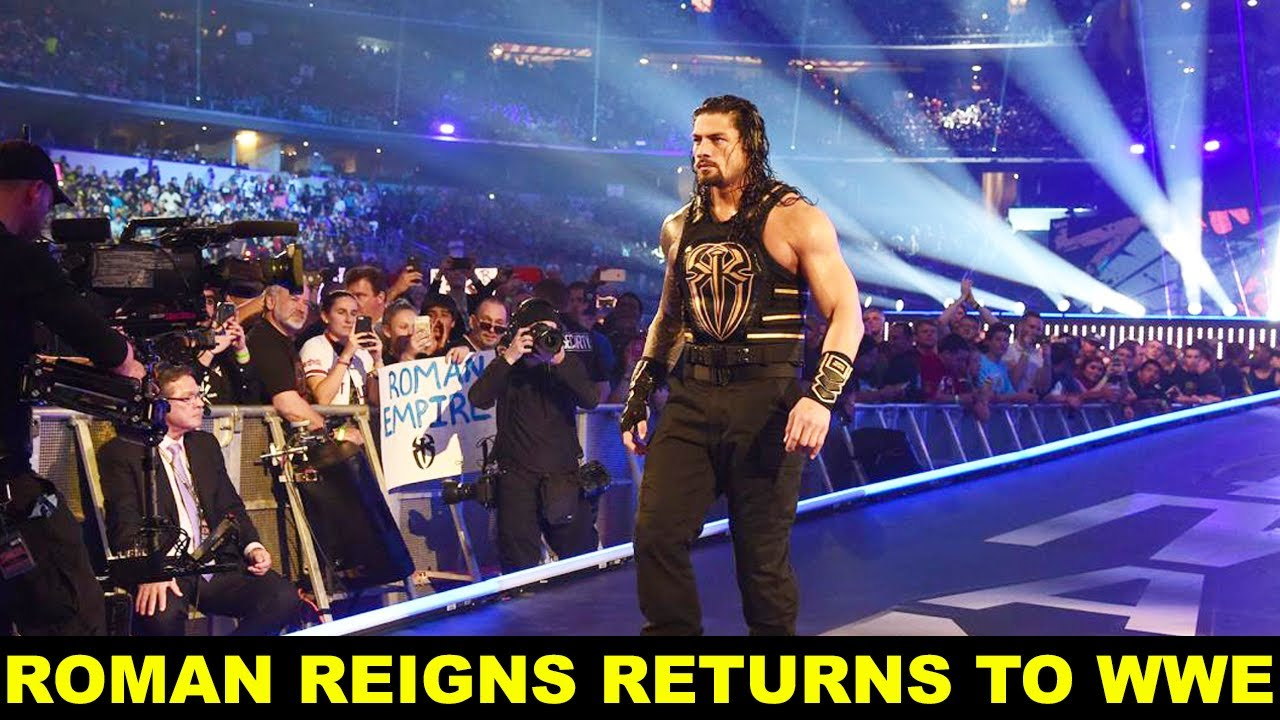 Roman Reigns Returns😃 to WWE SmackDown 2020 - Roman Reigns is Back 2020