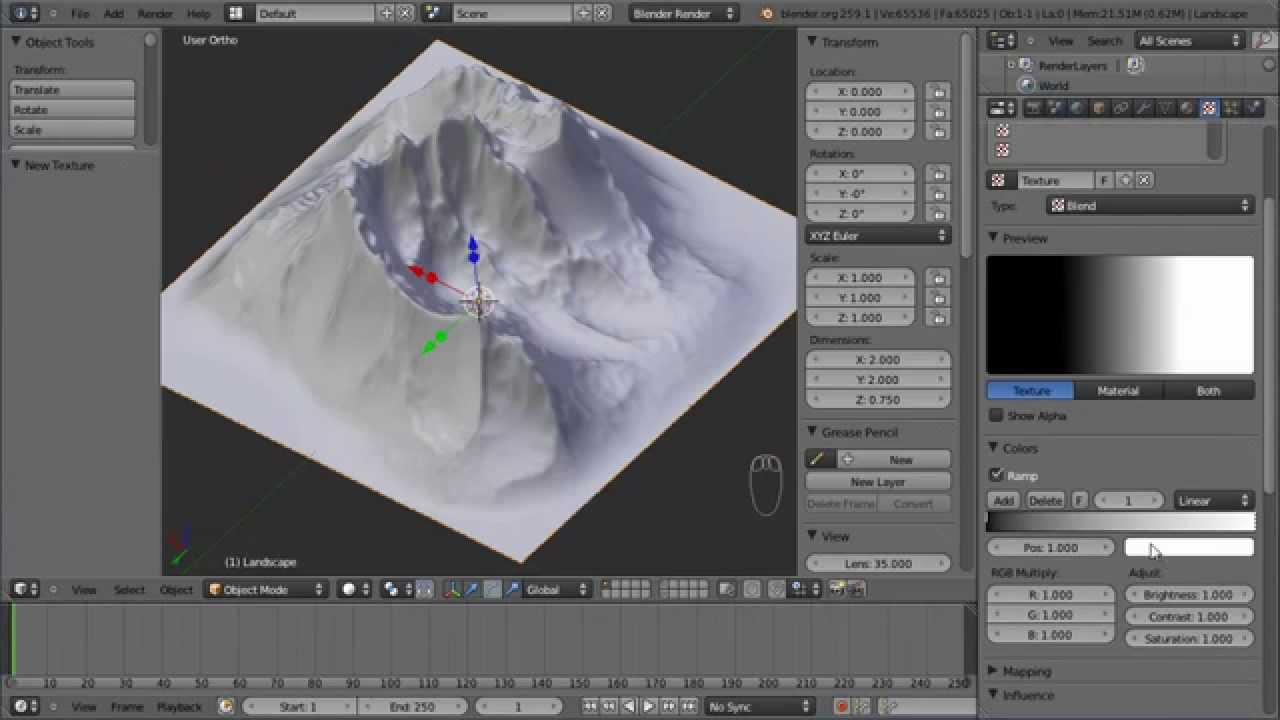 Slb terrain heightmap for opensim with blender 25x and ant plug in slb terrain heightmap for opensim with blender 25x and ant plug in hd youtube gumiabroncs Gallery