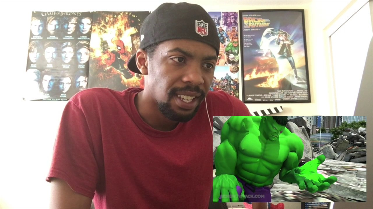 HULK VS DOOMSDAY - DEATH BATTLE! REACTION - YouTube Doomsday Vs Hulk Death Battle Reaction