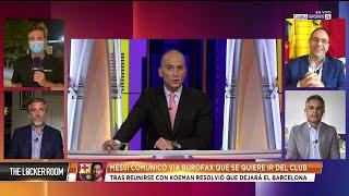 ¿Cómo queda Koeman si Messi se va del Barcelona?