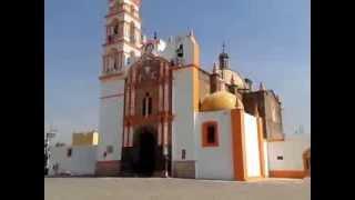 Iglesia  de San Francisco Papalotla Tlaxcala.