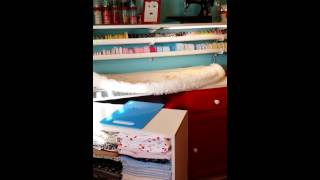 I Love Lucy inspired Sewing Room!
