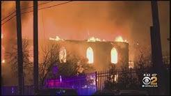 Elizabeth, N.J. Baptist Church Burns Down