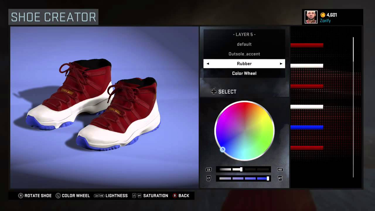 8be92f1eb5d8 NBA 2K16 Shoe Creator - Air Jordan 11 Custom