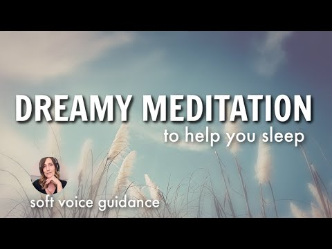 Dreamy Peaceful Sleep Talk Down & Guided Visualization for Sleep / Sleep Meditation Female Voice