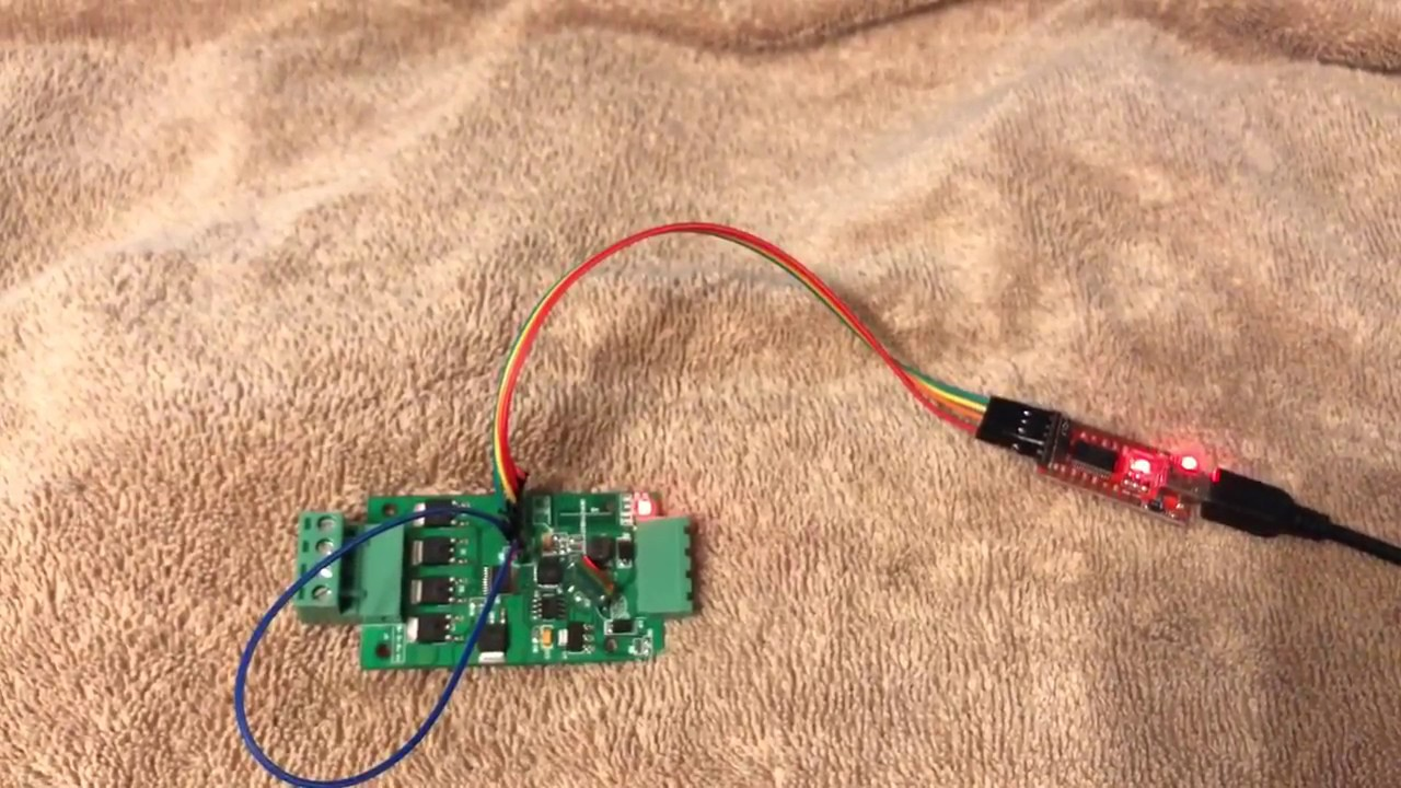 H801 RGBWW WiFi Controller firmware updating Password 'configme