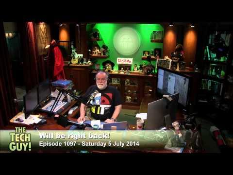 Scott Wilkinson in for Leo Laporte - The Tech Guy 1097