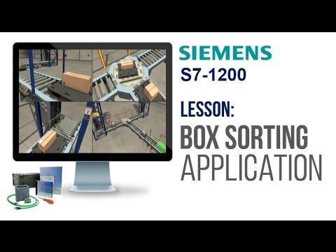Siemens S7-1200 - Box Sorting Application