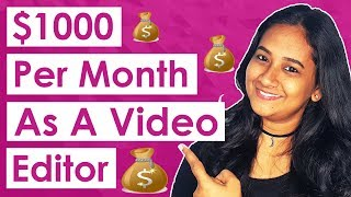 How To Make Money As A Video Editor