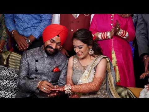 Punjabi/Sikh Ring Ceremony Cinematic Story Of Harleen & Navjot (Navdeep Photo ART)