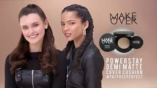 #PATPOSEPERFECT MAKE OVER  POWERSTAY DEMI-MATTE COVER CUSHION 30s