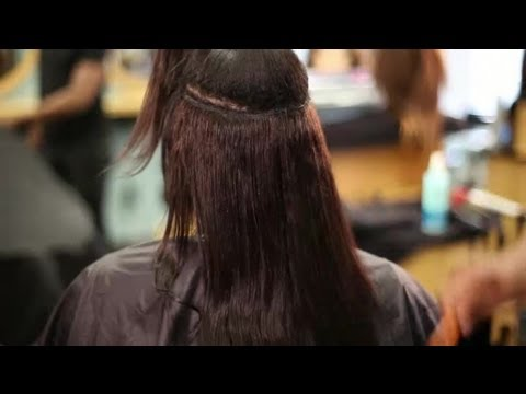 How to Keep Hair Extensions Frizz-Free : Hair Extensions ...