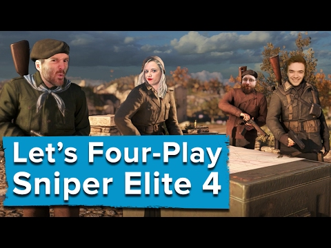 Let's Four-Play Sniper Elite 4
