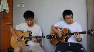 (Sungha Jung) On A Brisk Day - Devin & Yulius [COVER]