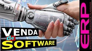 Venda de softwares ERP  Softwares empresariais