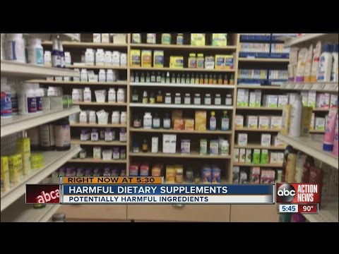 Harmful dietary supplements