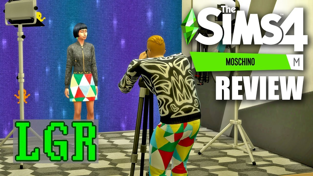 LGR - The Sims 4 Moschino Stuff Review thumbnail
