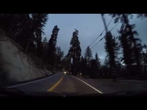 Morning Drive Around the San Bernardino Mountains. Part 1. May 15, 2017
