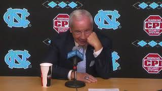 UNC Men's Basketball: Roy Williams Post Barton Press Conference