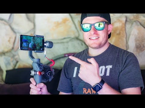 DJI OSMO Mobile 2 With RODE VideoMicro And FiLMiC Pro App Tested From OneWheel XR