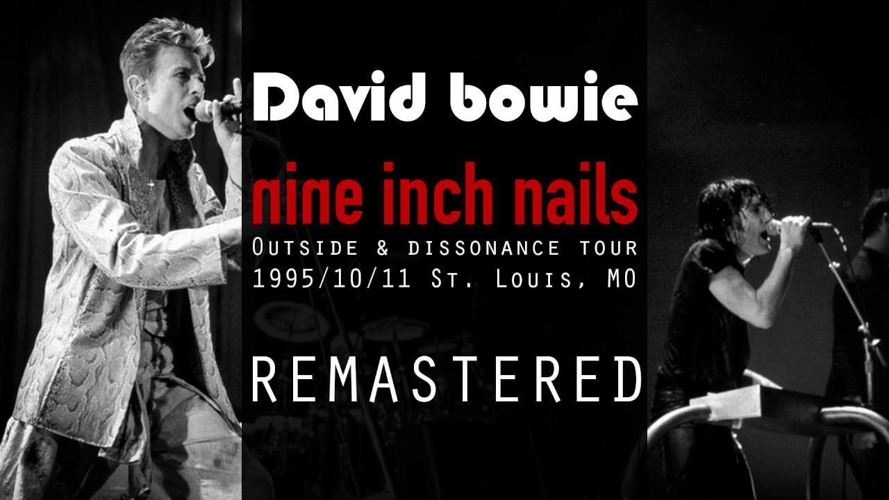 Nine Inch Nails & David Bowie 04 Sanctified 1995 Live Remastered ...