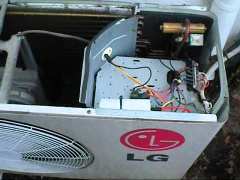 Wiring Diagram For Ac Compressor Dolphin Fuel Gauge Lg Run Cap Replacement - Youtube