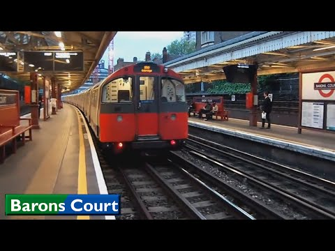 Barons Court | District - Piccadilly lines : London Underground ( 1973 Tube Stock - D78 Stock )