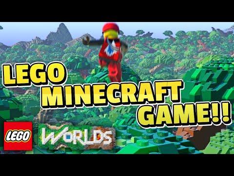 LEGO Worlds Gameplay #1 - LEGO MINECRAFT!?!