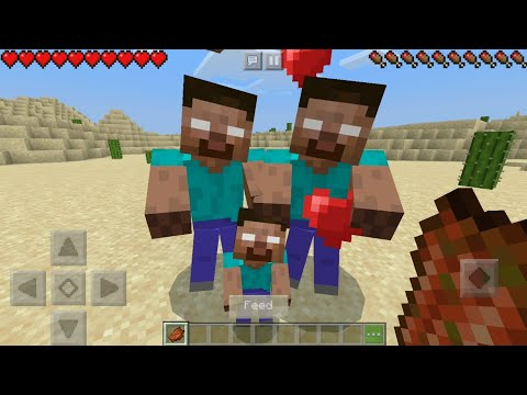 How To Breed Herobrine In Minecraft !