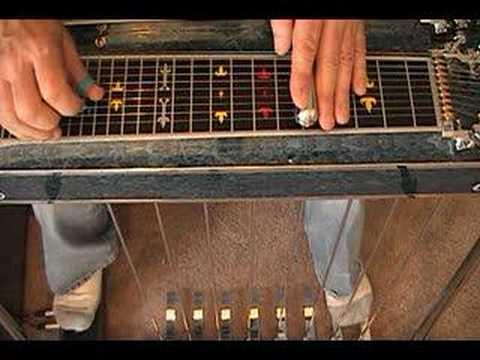 Beginner Steel Guitar, Major Scale Excercise