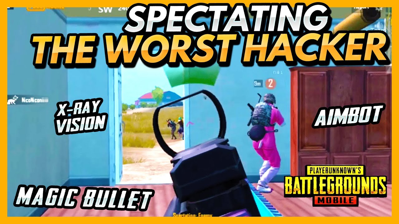 Spectating the WORST Hacker In PUBG Mobile