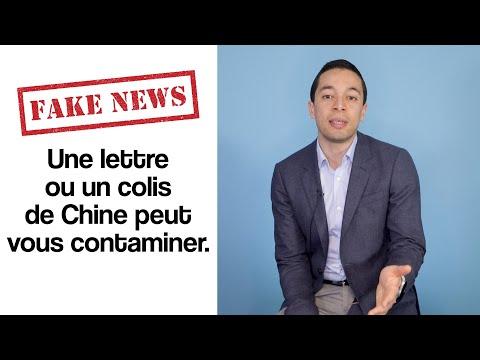 FAKE NEWS – Une lettre ou un colis de Chine peut vous contaminer