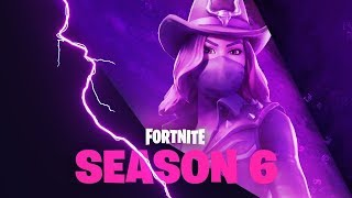 🔴 NEW SEASON 6, NEW PASS, NEW WEAPONS, NEW SKINS! -FORTNITE