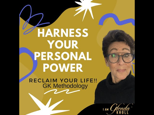 Gliding with Glenda, Harness your power